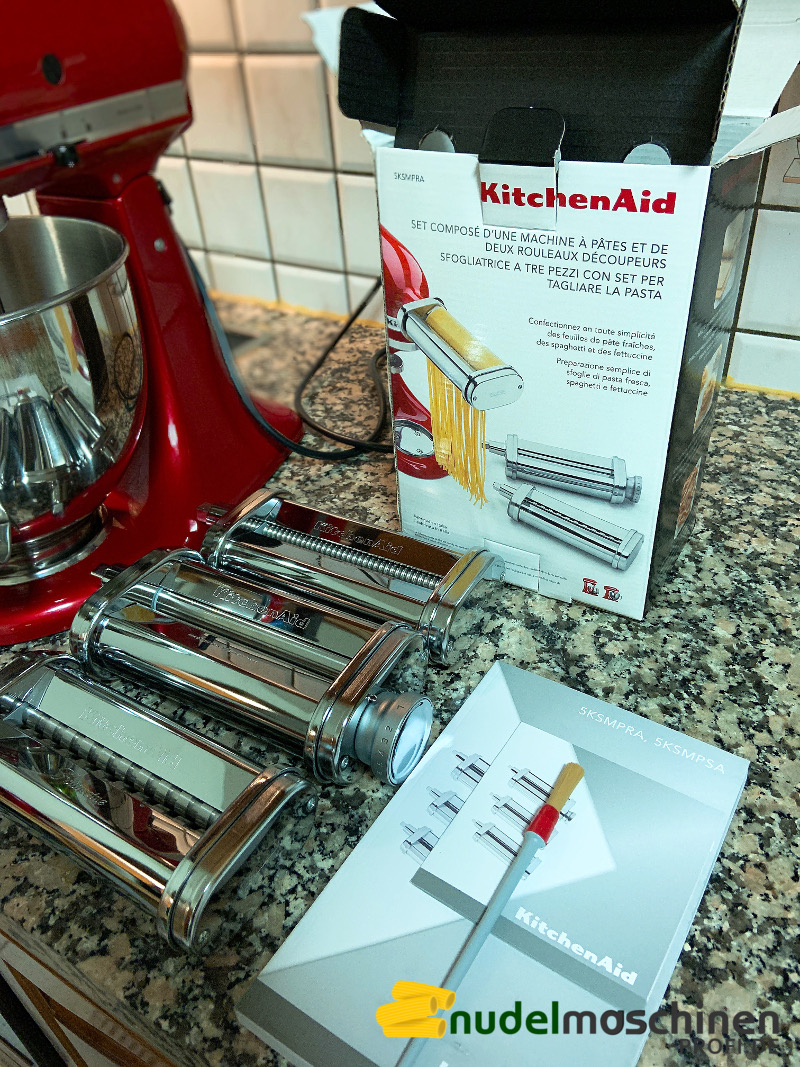 ᐅ Kitchenaid 5ksmpra Im Test Nudelaufsatz Fur Die Kuchenmaschine