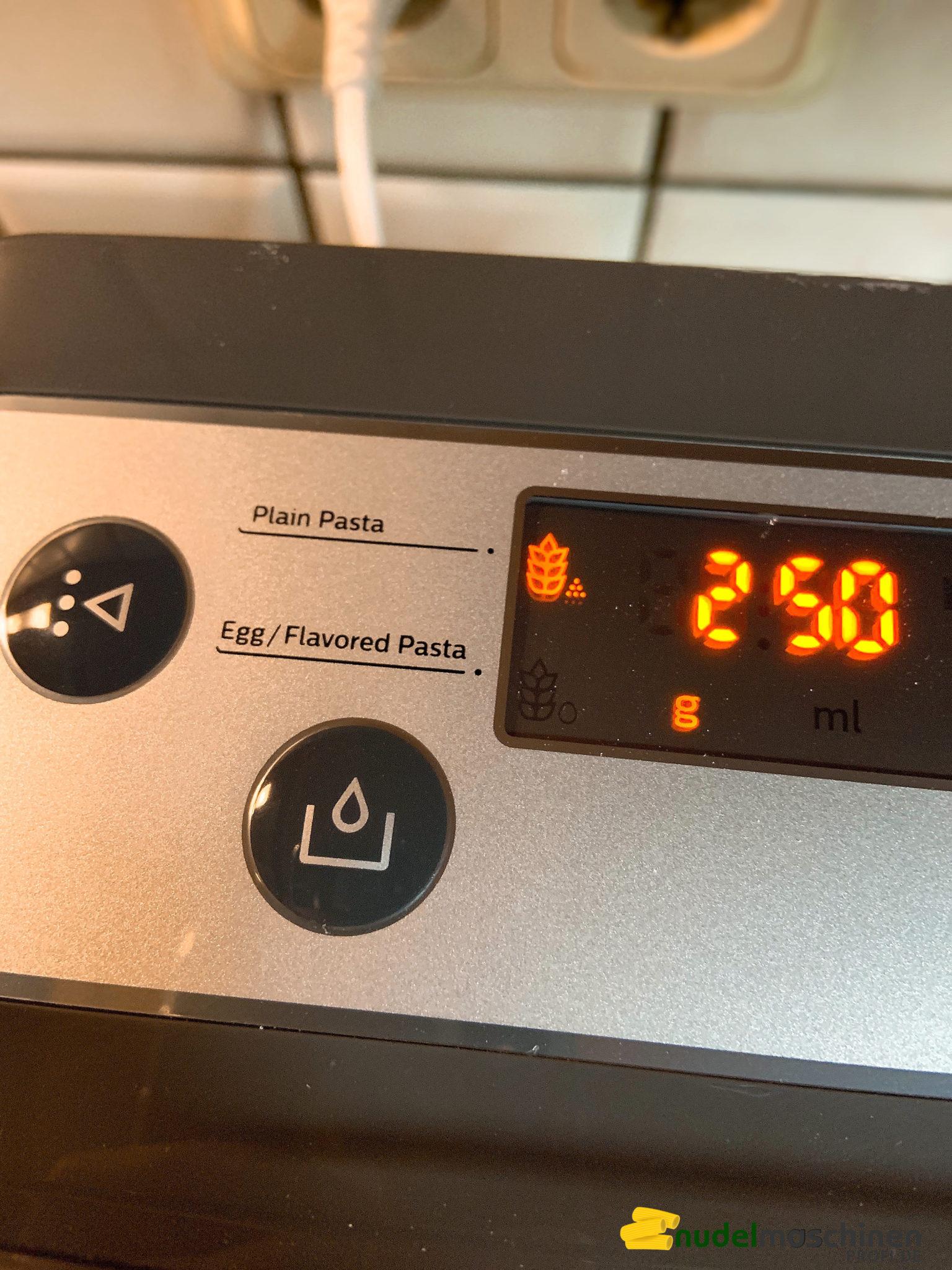 Philips Pastamaker mit Wiegefunktion
